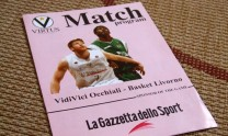 2006 - two page match program for a Basketball match