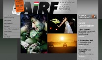 2009 - Xhtml and Css implementation for AIRF. Italian Association of Reporters Photographers