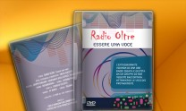 DVD cover design for Radio Oltre video documentary