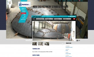 2012 - Project page and gallery