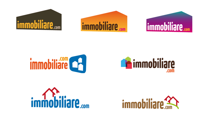 2008 - serie of logo proposals for a Real estate community
